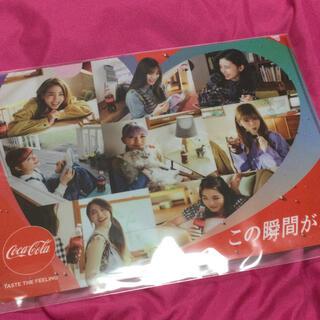コカ・コーラ - 新品未開封 コカコーラ NiziU オリジナルクリアファイル