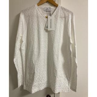 シーケーカルバンクライン(ck Calvin Klein)の新品 1.5万 ck カルバンクライン 立体 カットソー(Tシャツ/カットソー(七分/長袖))