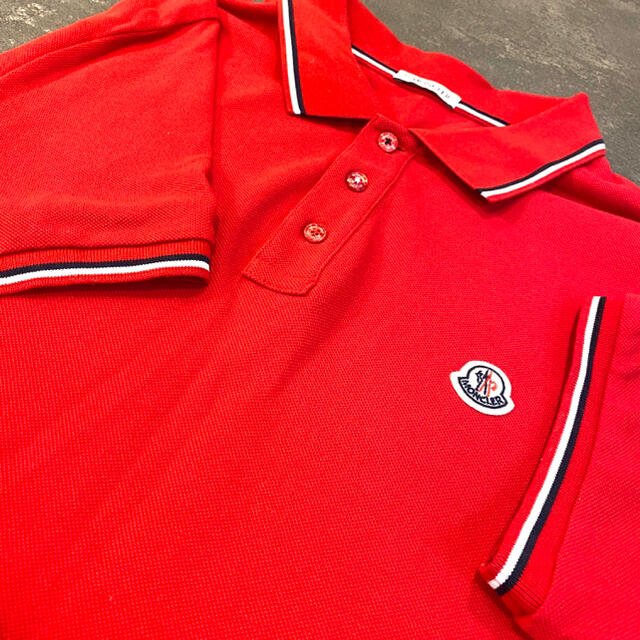 MONCLER(モンクレール)のmoncler モンクレール ポロシャツ メンズ メンズのトップス(ポロシャツ)の商品写真