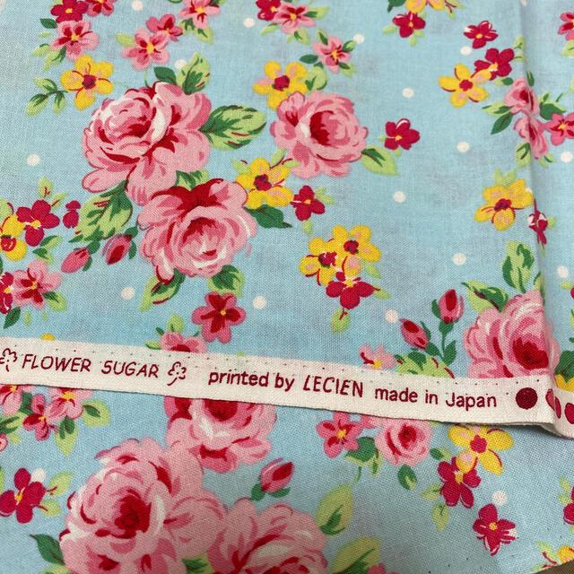 ルシアン フラワーシュガー 水色 ハンドメイドの素材/材料(生地/糸)の商品写真