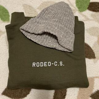 RODEO CROWNS - トレーナーとニット帽