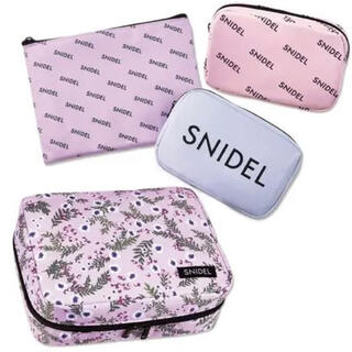 snidel - 新品・スナイデル豪華4点ポーチセット