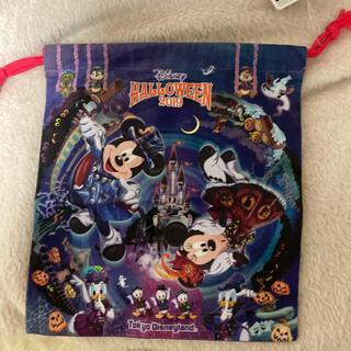 Disney - ディズニーリゾート ハロウィン 2019 巾着 小物入れ
