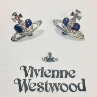 Vivienne Westwood - ヴィヴィアン ディアマンテピアス 紫