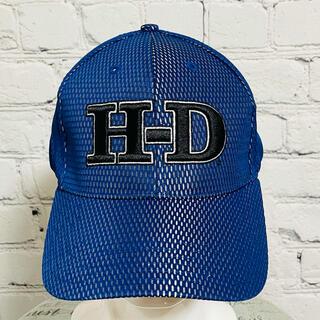 ハーレーダビッドソン(Harley Davidson)の新品★ハーレーダビッドソン メッシュキャップ ブルー/ L-XL(キャップ)