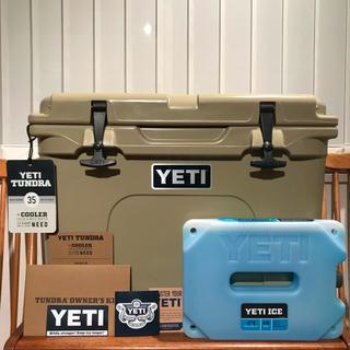 YETI イエティ タンドラ 35 タン希少USA製 + 特大保冷剤付き