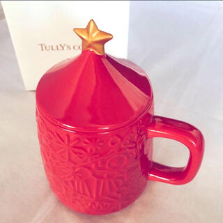 TULLY'S COFFEE - 新品★TULLY'S coffee オーナメントレリーフ マグ★表参道ヒルズ限定