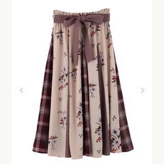 axes femme - ★新品 axes柄切替スカート