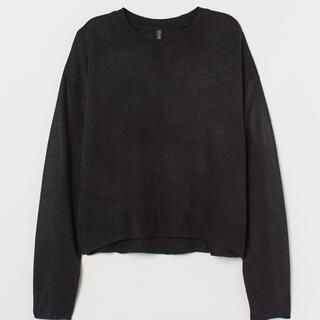 H&M - H&M 黒ニット XS