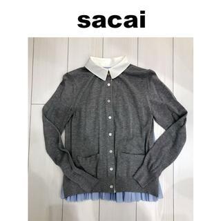 sacai - sacai サカイ ニットカーディガン