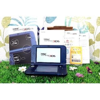 ニンテンドー3DS - 【動作確認済み】 Newニンテンドー3DS LL メタリックブルー New3DS