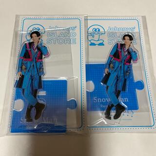 Johnny's - SnowMan 目黒蓮 アクリルスタンド 20夏 2点セット
