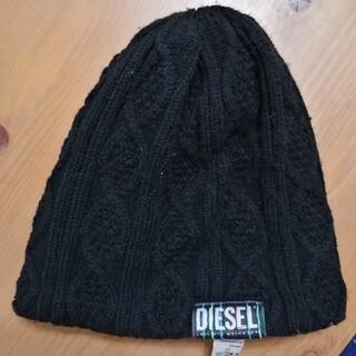 DIESEL - DIESEL ニット帽 黒