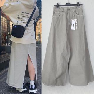 エムエムシックス(MM6)の【新品】MM6 MaisonMargiela デニム ロングスカート(ロングスカート)