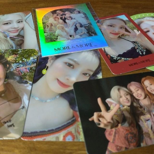 Waste(twice)(ウェストトゥワイス)のtwice カード エンタメ/ホビーのタレントグッズ(アイドルグッズ)の商品写真