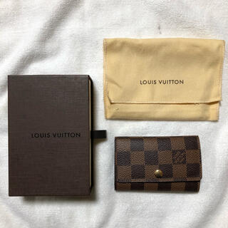 LOUIS VUITTON - ルイヴィトン ダミエ キーケース 6連