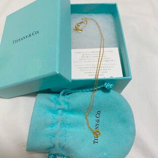 Tiffany & Co. - Tiffany ティファニー ネックレス 18K ピンクゴールド オープンハート