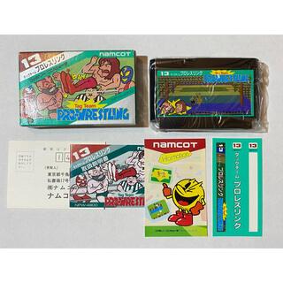 バンダイナムコエンターテインメント(BANDAI NAMCO Entertainment)の未使用 希少レア タッグチームプロレスリング  ファミコン レトロゲーム FC(家庭用ゲームソフト)