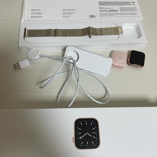 Apple Watch - Apple Watch 6 セルラー 40mm ゴールド アルミニウムケース