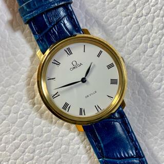 OMEGA - オメガ 手巻き デビル 時計 メンズ Deville ゴールド 625
