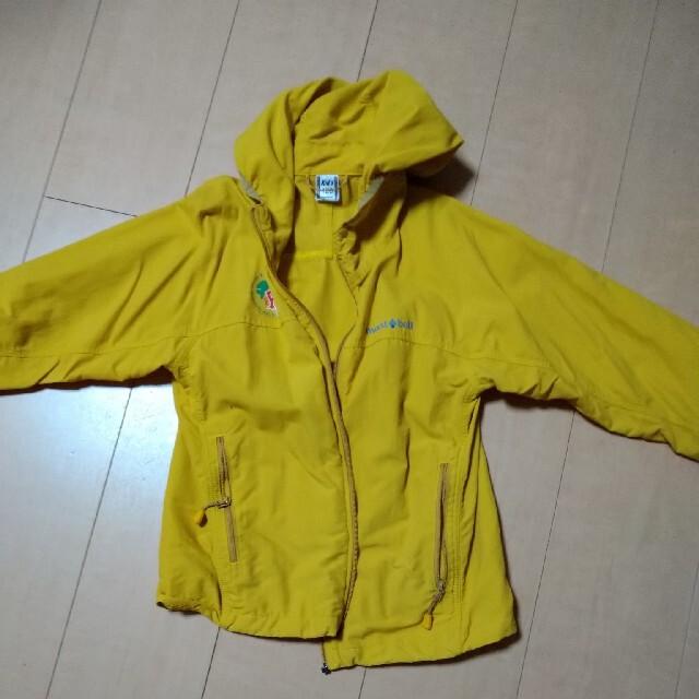 mont bell(モンベル)のmontbell薄手ジップアップパーカー キッズ/ベビー/マタニティのキッズ服男の子用(90cm~)(ジャケット/上着)の商品写真