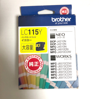 brother - brother ブラザー純正インクカートリッジLC115Y イエロー大容量 1個