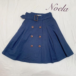 Noela - Noela ノエラ トレンチスカート フレアスカート ネイビー