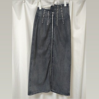 Ameri VINTAGE - AMERI Vintage スタッズデニムスカート
