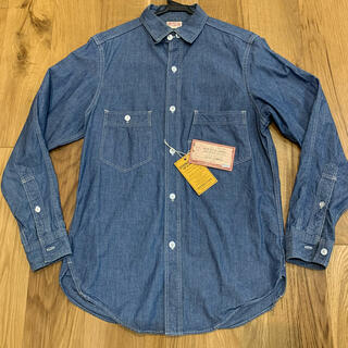 フリーホイーラーズ(FREEWHEELERS)の美品 フリーホイーラーズ エンジニアシャツ 15(シャツ)
