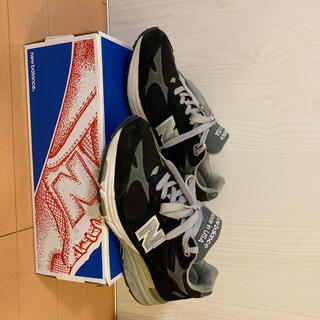 New Balance - ニューバランス 993 ブラック 25.0