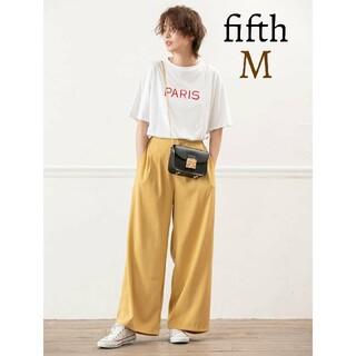 fifth - 新品 fifth フィフス タック カラーパンツ ワイドパンツ