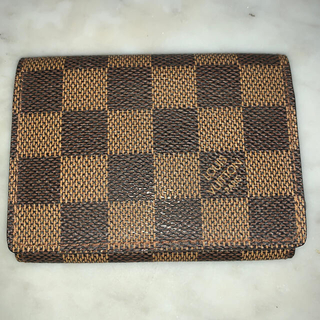 LOUIS VUITTON - 新品 ルイヴィトン ダミエ 名刺入れ カードケース