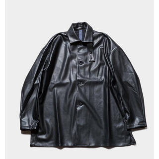 COMOLI - shinya kozuka 20aw leather shirt