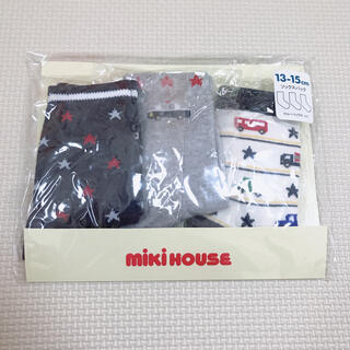 mikihouse - 新品 ミキハウス クルーソックス 靴下 13-15cm 男の子