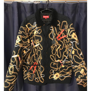 Supreme - supreme chains Quilted Jacket シュプリーム