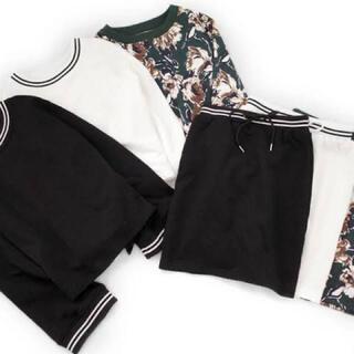 エモダ(EMODA)のEMODA&UNO MISAKO  黒スカート(ひざ丈スカート)