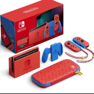 Nintendo Switch - 【新品・未開封】Nintendo Switch マリオレッド×ブルー