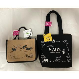 カルディ(KALDI)の新品 抜き取りなし KALDI 2021ネコの日バッグ&プレミアム フルセット(トートバッグ)