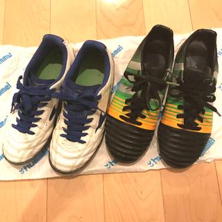 adidas - サッカーシューズ  サッカースパイク トレーニングシューズ 2足23センチ