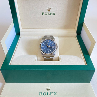 ROLEX - ロレックス オイスターパーペチュアル 41mm ブライトブルー 124300
