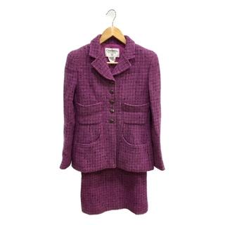 CHANEL - 新品同様 シャネル 97A ツイード スカート スーツ レディース 36
