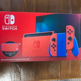 Nintendo Switch - 【新品未開封】任天堂 Nintendo Switch マリオレッド×ブルー