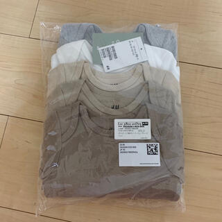 H&M - H&M ベビーロンパース 70サイズ 新品未使用タグ付き 5点セット