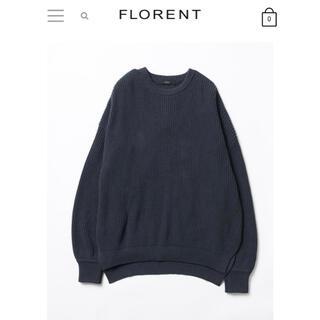 フローレント(FLORENT)の2021春物新作FLORENTニット(ニット/セーター)
