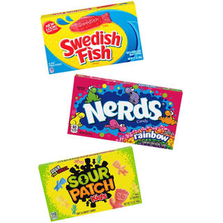 NeRds candy • SOUR PATCH • Swedish Fish(菓子/デザート)