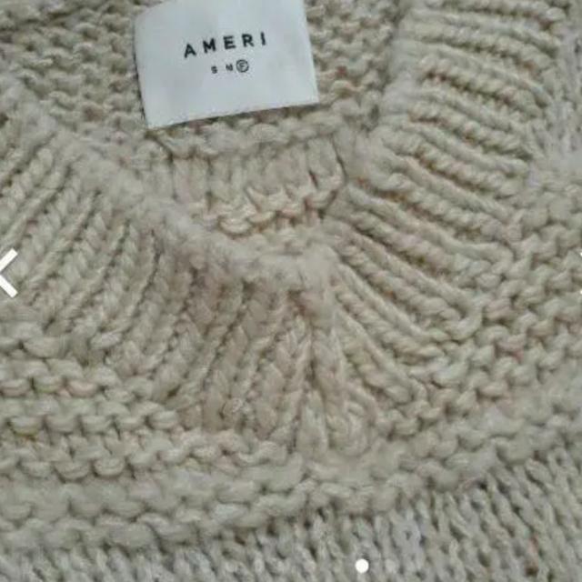 Ameri VINTAGE(アメリヴィンテージ)のAMERIのMIX BORDER LOOSE KNIT レディースのトップス(ニット/セーター)の商品写真