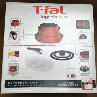 T-fal - 【未開封】ティファール インジニオ・ネオ IHルビー・エクセレンス セット9