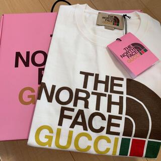 Gucci - GUCCIグッチNORTH FACE ノースフェイスオーバーサイズTシャツ XS