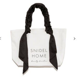 snidel - スナイデル ホーム オーガニックキャンパスバック