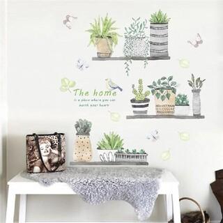 ✪新品販売✪観葉植物☘インテリアウォールステッカー☘✾✨The✨home✨✾